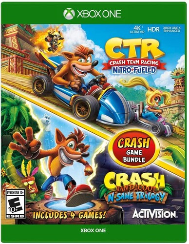 Crash Team Racing Bundle - Nitro Fuled/  N. Sane Trilogy for Xbox One