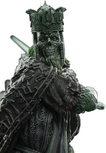 LORD OF THE RINGS MINI STATUE - KING OF THE DEAD (