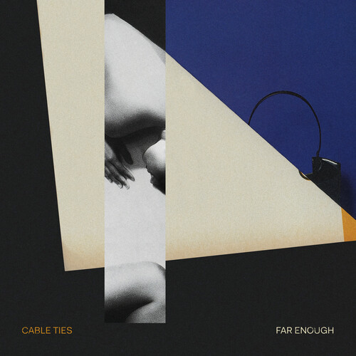 Cable Ties - Far Enough [Indie Exclusive Limited Edition Orange & Black LP]