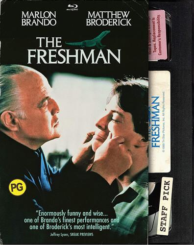 The Freshman (Retro VHS Packaging)