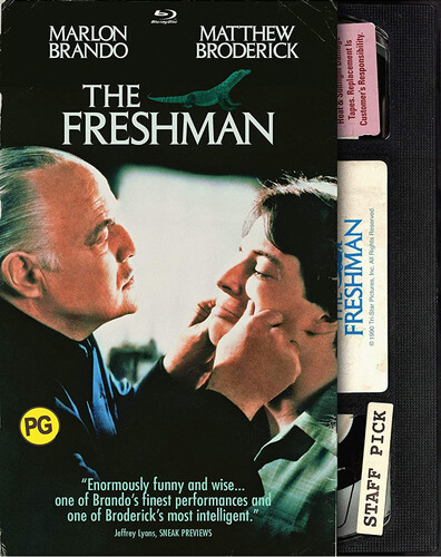 The Freshman (Retro VHS Packaging)