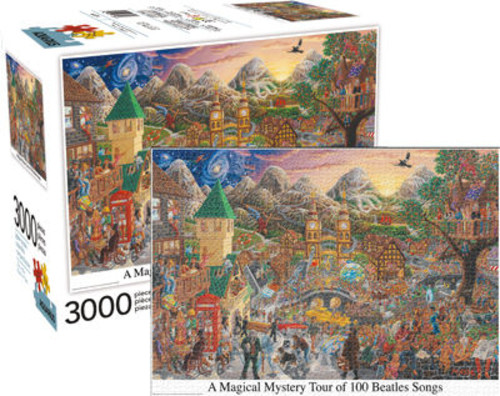 MAGICAL MYSTERY TOUR 3,000PC PUZZLE