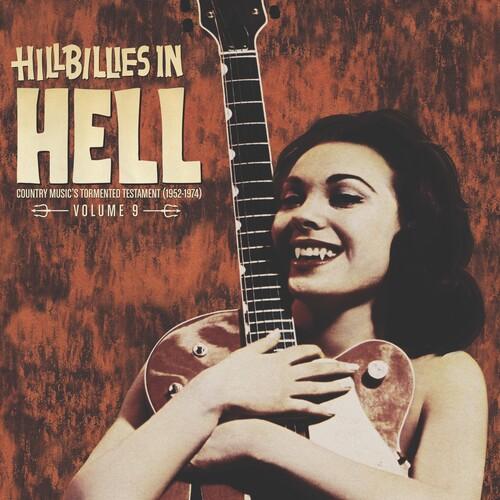 Hillbillies In Hell Vol 9 / Various Colv Ltd - Hillbillies In Hell: Vol. 9 / Various [Colored Vinyl] [Limited Edition]