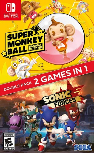 Sonic Forces + Super Monkey Ball: Banana Blitz for Nintendo Switch