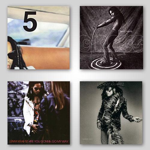 Lenny Kravitz Vinyl Bundle