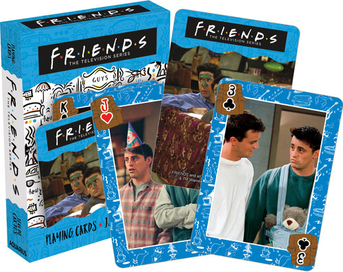 FRIENDS GUYS PLAYING CARDS DECK