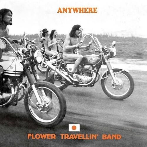 Flower Travellin Band - Anywhere (W/Cd) [Colored Vinyl] (Ylw) (2pk)