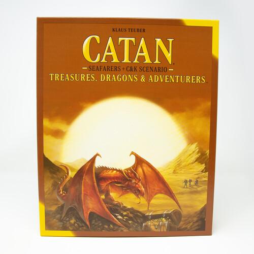 CATAN TREASURES, DRAGONS, & ADVENTURERS SEAFARERS
