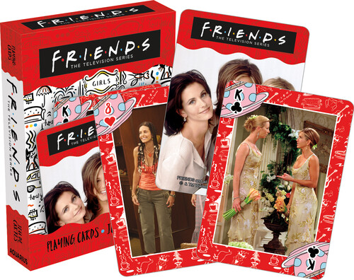 FRIENDS GIRLS PLAYING CARDS DECK
