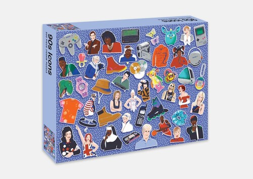- 90s Icons Jigsaw Puzzle: 500 Piece Jigsaw Puzzle
