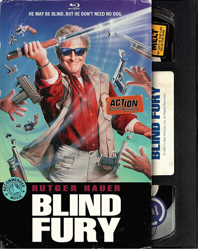 Blind Fury (Retro VHS Packaging)