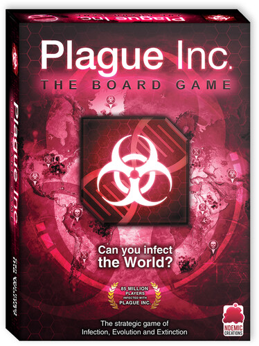 PLAGUE INC BOARD GAME CAN YOU INFECT THE WORLD?