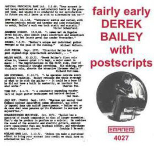 Fairly Early with Postscripts [Import]