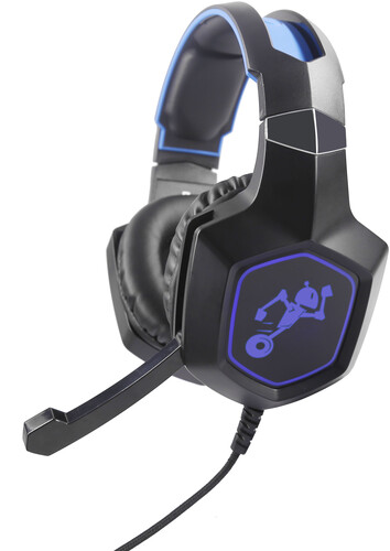 Teknmotion Tmyps4B40 Yapster Sony Ps4 Headset Blk - TekNmotion TM-YPS4B4 Yapster Sony PS4 7.1 Surround Sound Headset With Boom Mic Black
