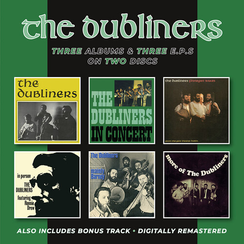 Dubliners /  In Concert /  Finnegan Wakes + In Person, Mainly Barney &More Of The Dubliners EPs + Bonus Track [Import]