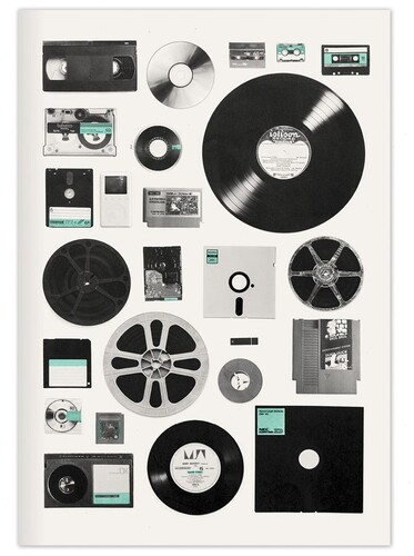 Galison - Vintage Recordings and Data A5 Journal