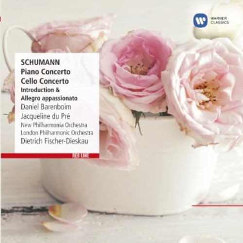 Red Line: Schumann - Cello Concerto Piano Concerto