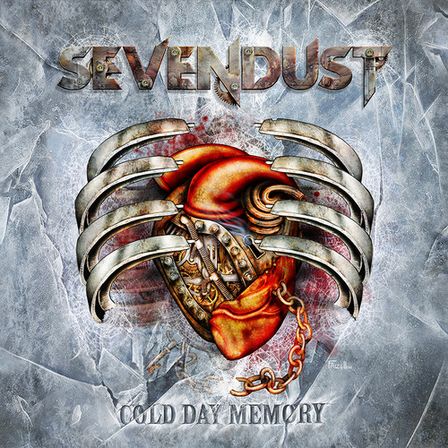 Cold Day Memory (Electric Blue w/  Silver & White Splatter Colored Vinyl)  (rocktober 2018 Exclusive)