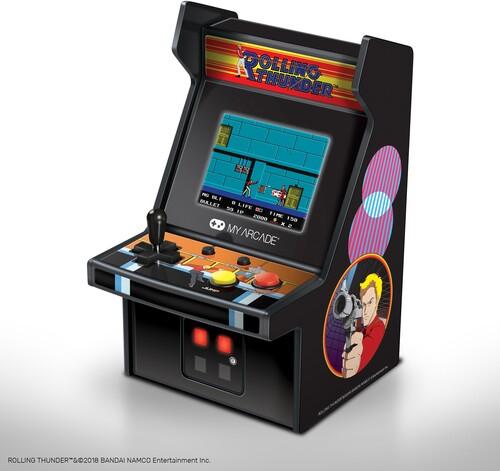 - My Arcade DGUNL-3225 ROLLING THUNDER COLLECTIBLE RETRO MICRO PLAYER