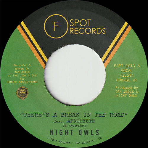 There's A Break in the Road b/ w Inner City Blues (Make Me Wanna Holler