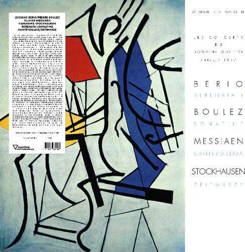 Serenata I /  Sonatine /  Canteyodjaya /  Zeitmasze