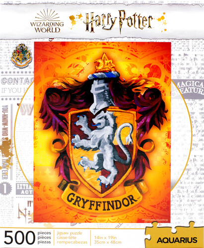 HARRY POTTER GRYFFINDOR LOGO 500 PC PUZZLE