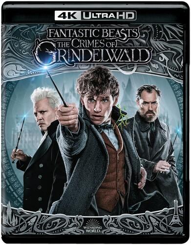 Fantastic Beasts: The Crimes of Grindelwald [4K Ultra HD Blu-ray/Blu-ray]