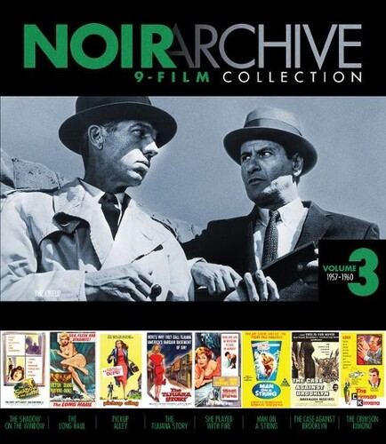 Noir Archive Volume 3: 1957-1960 (9-film Collection)