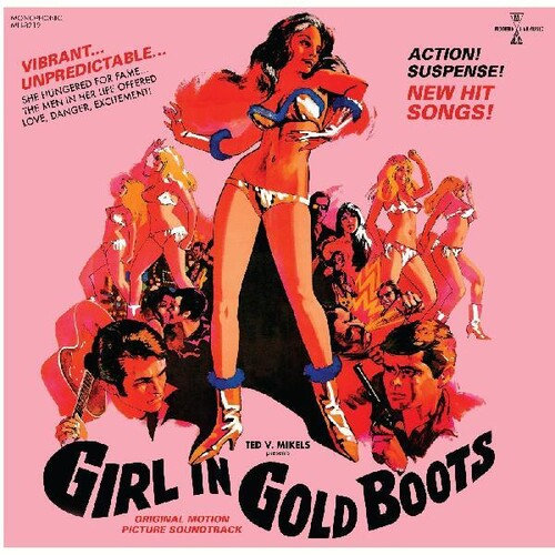Girl In Gold Boots / Original Motion Picture Gol - Girl In Gold Boots / Original Motion Picture (Gol)