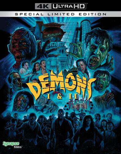 Lamberto Bava - Demons & Demons 2 / (4k Ltd)