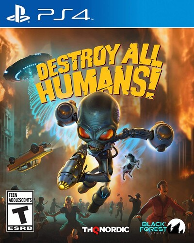 - Destroy All Humans! for PlayStation 4
