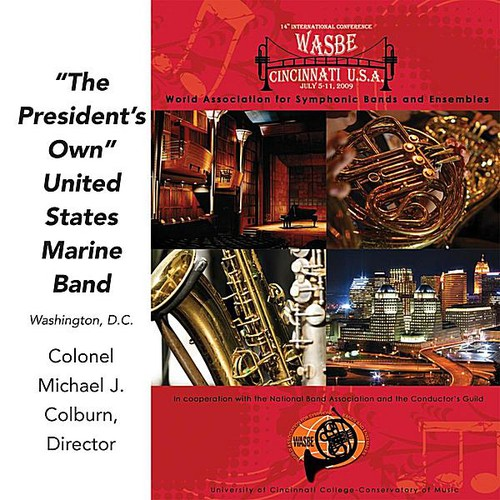 2009 Wasbe: The President's Own United States Marine Band