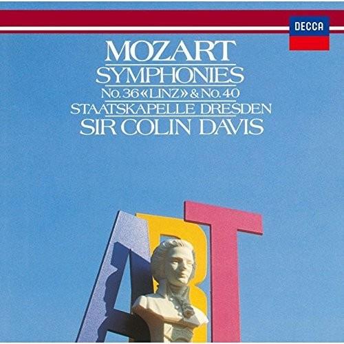 Mozart: Symphonies No. 36 & No. 40
