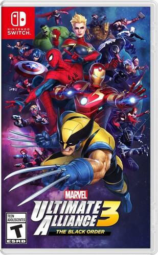 Swi Marvel Alliance 3 the Black Order - Marvel Ultimate Alliance 3: The Black Order for Nintendo Switch