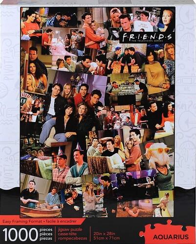 FRIENDS COLLAGE 1000 PC PUZZLE