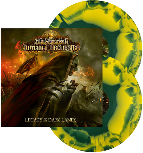 Blind Guardian Twilight Orchestra - Legacy Of The Dark Lands (Inkspot) [Yellow/ Green Swirl 2LP]