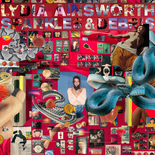 Lydia Ainsworth - Sparkles & Debris (Ruby Red Vinyl) [Colored Vinyl] (Red)