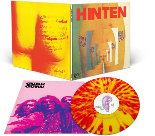 Guru Guru - Hinten (Purple Orange & Red Splatter Vinyl) [Colored Vinyl]