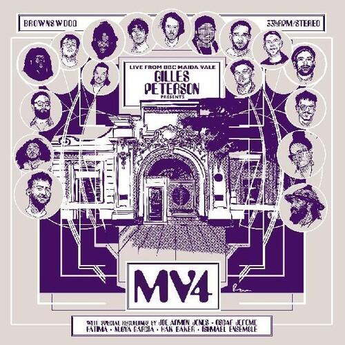 Gilles Peterson Presents: MV4 /  Various [White Colored Vinyl] [Import]