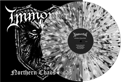 Immortal - Northern Chaos Gods (Clear W/ Black & White) [Limited Edition]
