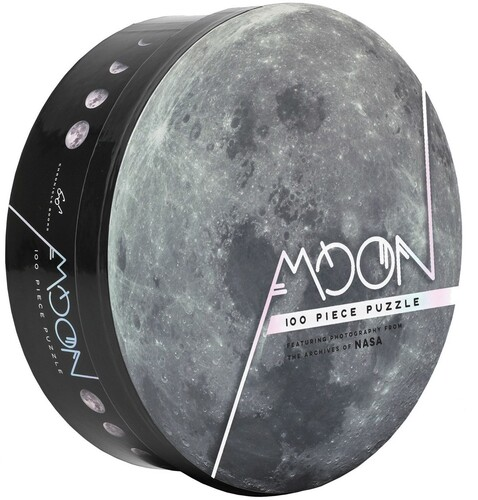 - 100 Piece Moon Puzzle: Featuring Photography from the Archives of NASA