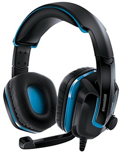- DreamGear DGPS4-6447 GRX-440 High Perfomance Gaming Headset For Playstation 4 with Boom Microphone Foldable (Black/Blue)