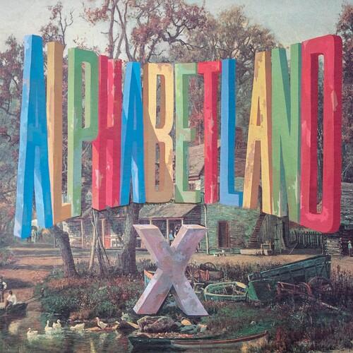 X - ALPHABETLAND [Indie Exclusive Limited Edition Blue LP]