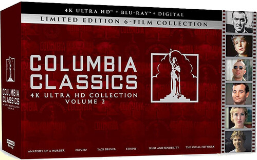 Columbia Classics: 4K Ultra HD Collection, Volume 2