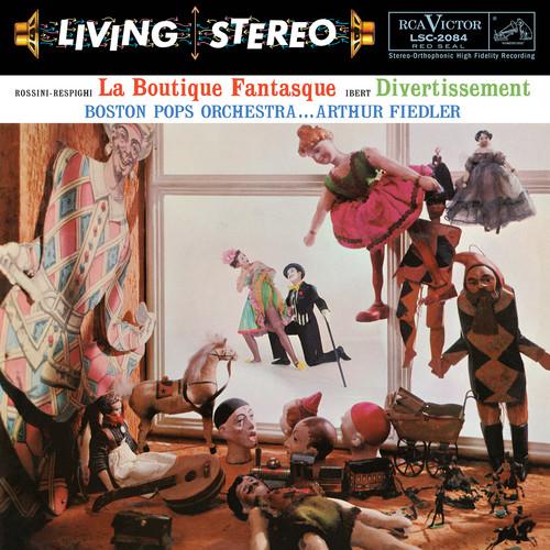 Rossini-respighi - La Boutique Fantasque & Ibert - Divertissement