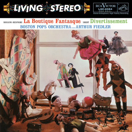 Rossini-respighi - La Boutique Fantasque & Ibert - Divertissement
