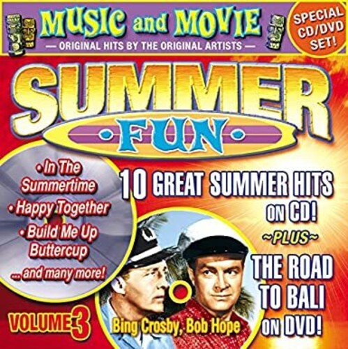 Summer Fun, Vol. 2: 10 Summer Hits On CD + Road To Bali On DVD