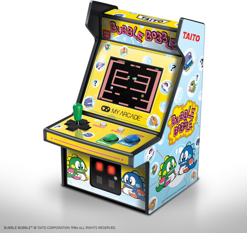 - My Arcade DGUNL-3241 BUBBLE BOBBLE COLLECTIBLE RETRO MICRO PLAYER