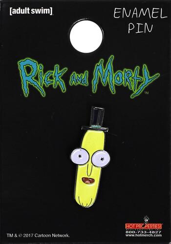 RICK & MORTY- MR POOPYBUTTHOLE ENAMEL PIN