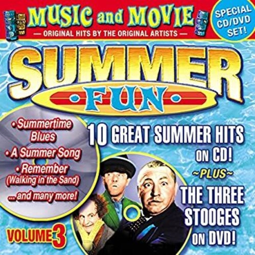 Summer Fun, Vol. 3: 10 Summer Hits On CD + The Three Stooges On DVD